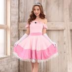 ショッピングコスプレ コスプレ ハロウィン コスチューム コスプレ衣装 3etスーパーマリオピーチ姫風コスチュームセット