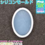 シリコンモールド 楕円 卵型 円形 12 シリコンモールド 楕円型 卵型 円型 モチーフ レジン液 UVレジン 手作り 3D 樹脂 型取り デコレーション 立体 アクセサリー