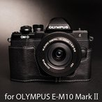 TP Original Leather Camera Body Case レザーケース for OLYMPUS OM-D E-M10 MarkII マーク2 おしゃれ 本革 カメラ...
