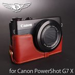 TP Original ティーピー オリジナル Leather Camera Body Case レザーケース for Canon PowerShot G7 X おしゃれ 本革 カメラケース Oil Brown(オイル ブラウン)