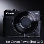 TP Original ティーピー オリジナル Leather Camera Body Case レザーケース for Canon PowerShot G9 X おしゃれ 本革 カ...