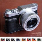 TP Original Leather Camera Body Case for Panasonic LUMIX GF9 DC-GF9 おしゃれ 本革 カメラケース 8colors
