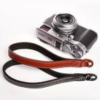 『クロネコDM便OK!』 TP Original ティーピー オリジナル Leather Camera Wrist Strap 丸リングタイプ おしゃれ 本革 カメラリストストラップ Black/Brown