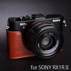 TP Original ティーピー オリジナル Leather Camera Body Case レザーケース for SONY RX1RII(DSC-RX1RM2) おしゃれ 本...
