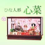 Yahoo!人形結納のよし井ケース入り 雛人形 ひな人形 「心菜(ここな)」 優しいお顔が特徴、オルゴール付きケース飾りです。