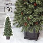 クリスマスツリー おしゃれ 北欧 150cm 高級 ドイツトウヒツリー オーナメントセット なし ツリー ヌードツリー スリム ornament Xmas tree Eurpot