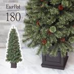 クリスマスツリー 180cm おしゃれ 北欧 高級 ドイツトウヒツリー オーナメントセット なし ツリー ヌードツリー スリム ornament Xmas tree Eurpot