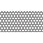 SUS304 ステンレス パンチング メタル  φ:2.0 板厚:1.0mm 大きさ:巾1000mm×長さ2000mm (1×2m)