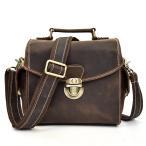 レザー ショルダーバッグ 大容量 A4収納 本革 メンズ 斜め掛け鞄 厚みレザー 斜めがけバッグ 本革 メッセンジャーバッグ フラップ 通勤鞄