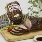 ハム 焼豚大ブロック詰め合わせ 秘伝のタレに漬け込み、直火で焼き上げた本格派焼豚です。 送料無料 ポイント消化