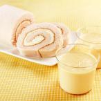 乳蔵 北海道プリン レアロール セット 北海道 ロールケーキ 洋菓子 詰め合わせ 冷凍 スイーツ プリン 乳蔵レアロール