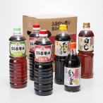 まる昌醤油おすすめ6本セット まる昌醤油醸造元 福岡県 郷土の味を大切にしたしょうゆ、ポン酢、白だしなどのセット 送料無料 ポイント消化