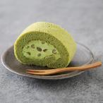 大納言小豆入 大和抹茶米粉ロールケーキ 1本 ロールケーキ 洋菓子 抹茶 米粉 スイーツ グルテンフリー 奈良 奈良祥樂