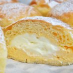 とろける2層のクリームパン 6個 冷凍 パン 詰合せ クリームパン 菓子パン ブリオッシュ おやつ スイーツ 秋川あらもーど 東京