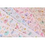 HAPPY-BABY ダブルガーゼ 草花と動物たち f1rg2500-9