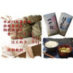 平成28年度産 特別栽培米 食べ比べセット(つや姫5kg、はえぬき5kg) 【送料無料】