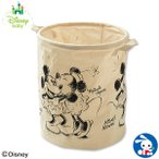 Yahoo!西松屋 Yahoo!店SmartAngel)筒型コットンバスケット(ミッキーマウス&ミニーマウス【セール】