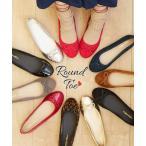 靴 レディース ラウンドトゥ バレエ シューズ 年中  21.0〜21.5〜26.0〜26.5cm ニッセン画像