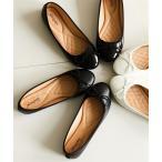靴 レディース ラウンドトゥ バレエ シューズ  23.0〜23.5/24.0〜24.5cm ニッセン