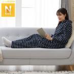 着る毛布 ロング丈(NWi-n ロングV NV ボーダー M) ニトリ 『玄関先迄納品』 『1年保証』