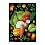 デコシールA4サイズ 野菜集合 チョーク 40272