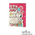 Hallmark ホールマーク スヌーピーオルゴールカード カットケーキスヌーピー 6セット 770099