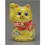 金運を呼ぶ 九谷焼2号・右手 招き猫 黄盛・・・風水・開店祝い・新築祝い・周年記念・開業祝い・贈り物・ギフト・右手