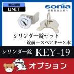 シリンダー錠セット KEY-19 UNIT用