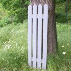 ウォールフェンス ピケット -ホワイト- (ガーデンフェンス 手作り ウッドフェンス 庭 トレリス 仕切り 木製 格子 オーダーメイド)