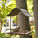 バードフィーダー 釣り下げ型 -スクエア- (野鳥の餌台 小鳥 鳥 野鳥 バードウォッチング)