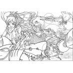 韓国語のぬりえ本 ワンピース One Piece カラーリングブック 2塗り絵
