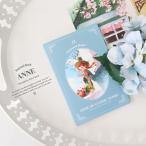 赤毛のアン イラスト ポストカードブック 12枚セット 100×150×5mm (絵:キム・ジヒョク)絵はがき(美しい古典シリーズ)