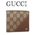 GUCCI オールドグッチ GG柄 2つ折り財布