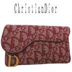 超美品 Dior ディオール トロッター 3つ折り長財布