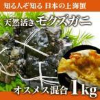 其它 - 【予約】天然活きモクズガニ オス・メス混合1kg(5匹〜10匹 生産者・貝沼)