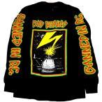 BAD BRAINS「BANNED BLACK」ロングスリーブシャツ