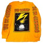 BAD BRAINS「BANNED YELLOW」ロングスリーブシャツ