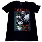 QUEEN「NEWS OF THE WORLD」Tシャツ