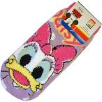 ◆選べる3P¥1,080対象商品◆FRR589 モコモコソックス(女性用23〜25cm) 「Disney(ディズニー)/デイジー」 靴下/もこもこ/ふわふわ/温