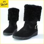 Yellow Earth(イエローアース) ムートンブーツ Alive Boot オーストラリア産シープ 本革 レディース ブラック black 22.5cm〜24.5cm