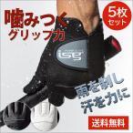 5枚セット ゴルフグローブ 手袋 片手  インスパイラルグローブ 左手 右手 イオンスポーツ フィット感抜群 isg