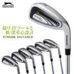 ゴルフ アイアンセット メンズ スラセンジャー Slazenger 6本セット R スチール