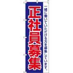 正社員募集 のぼり旗 016JN0043IN