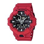 メンズウォッチ 腕時計 Casio G-shock Ana Digi Red Men's Watch, 200 Meter Water Resistant with Day and Date GA-700-4A 正規輸入品