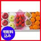 お歳暮 早割 冬のいちごと旬の果物詰合せ