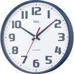 Felio インテリア掛時計 チュロス ネイビーブルーFEW182NB−Z