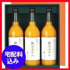 ギフト お返し 内祝 早和果樹園 有田みかんジュース「飲むみかん」3本セット   W3−B 早和果樹園