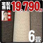 カーペット 6畳 防ダニ 防音カーペット 江戸間 六畳 絨毯 おしゃれ 安い 長方形 ネスト