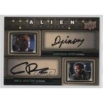 COMC おもちゃ トレーディングカード Dominique Pinon; Gary Dourdan (Trading Card) 2016 Upper Deck Alien Anthology - Dual Actor Autographs #DA-PD