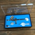 エアブラシ ダブルアクション 口径0.3mm スプレーガン プラモデル 塗装 プラモ スプレー ペイントブラシ フィギュア